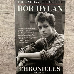 Bestseller Bob Dylan Chronicles Volume One Book